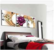 Rose Flower No Frame Oil painting Picture Printed canvas Decorative Canvas Print