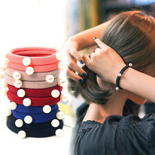 5 PCS Women Girl Fashion Elastic Hair Band Rope Ring Hairband Ponytail Holder