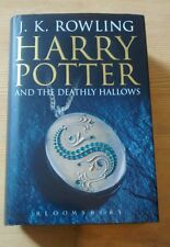Harry Potter and The Deathly Hallows First Edition, Adult Cover 2007