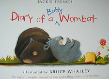 Diary Of A Baby Wombat Jackie French Softcover Picture Book