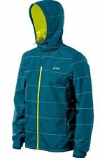 Asics STORM SHELTER 10K Mens Zipper Front  Long Sleeve Hoodie Jacket  NEW