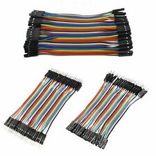 40 Pcs Dupont Jumper Wire M-M / M-F / F-F Cable Pi Pic Breadboard For Arduino  K