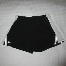 UNDER ARMOUR Womens Black Running Shorts Size Small S