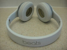 BEATS BY DR DRE SOLO OVER EAR WHITE HEADBAND HEADPHONES B0518 - FOR PARTS