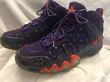 Nike Barkley Posite Max Court Purple/Team Orange Phoenix Suns 555097-581 SZ 13