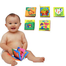 Intelligence Development Cloth Cognize Book Educational Toy for Kids Baby 2016