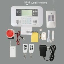 Dual Network Wireless GSM Home Security Alarm System Auto Dial System Universal