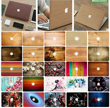 "Hard Case + Keyboard Cover for Mac MacBook Air Pro 11.6"" 12 13 15 Retina Apple"