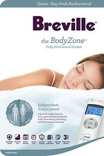 NEW Breville Home BodyZone By Breville Antibacterial Fitted Heated Blanket