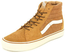 New Men's Vans Sk8-hi Lite Wheat Footwear Hi-top Sneakers Boots