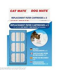 Pet Mate Cat Dog Water Fountain Replacement Filter Cartridge 2 Pack multi option