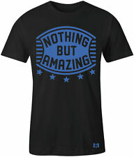 """NOTHING BUT AMAZING"" T-Shirt to Match Foamposite ""HYPER COBALT"" Foams"