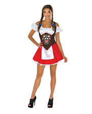 Beer Garden Beermaid Adult Women's Halloween Costume Oktoberfest Sexy European