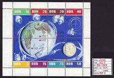 DDR 1962 Soviet earth orbit sheetlet. Mi 926-933 - Mint Never Hinged
