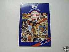 1987 Topps Baseball Cards of the Detroit Tigers (Mint)