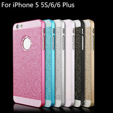 POP Bling Glitter Crystal Hard Back Phone Case Cover For iPhone 4s 5s 6+Plus SE