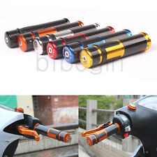 """Universal 7/8""""Motorcycle Aluminum  Handle Bar Ends Cover Hand Grips Bikes 22MM"""