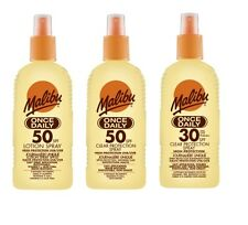 Malibu Once Daily SPF Water Resistant High Protection UVA/UVB Non Greasy Formula