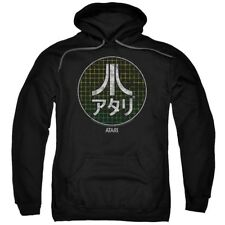 Hoodies Sizes S-3XL New Authentic Atari Japanese Grid Adult Pullover Hoodie
