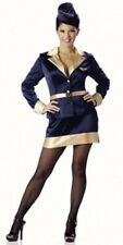 Adult Deluxe Airline Stewardess Costume