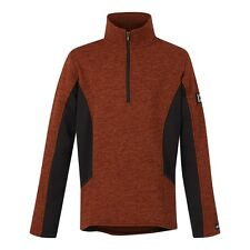 Kerrits Pocket Fleece Zip Neck Riding Shirt - Girls/Kids - Chestnut - SALE
