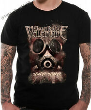 Bullet For My Valentine Temper Temper Gas Mask T Shirt OFFICIAL S M L XL XXL NEW