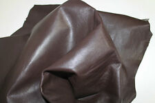 Lambskin leather hide skin hides Genuine Sheep Nappa Finish Leather 5+ Sq Ft 07