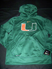 Nike Youth Therma-Fit Miami Hurricanes Hoodie NWT