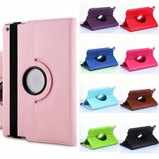 360° Rotating Magnetic PU Leather Protect Case Cover Skin Stand For iPad mini 4