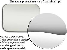 Gas Cap Cover - Custom Fit - Quality Stainless Steel QAA Fuel Tank Gas Door Trim