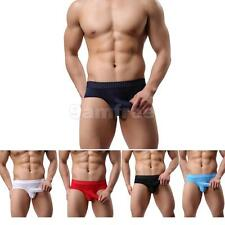 Mens Sexy Bulge Pouch Briefs Underwear Breathable Thongs Panties G-string T-back