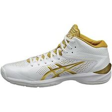 asics basketball shoes GELBURST 20th-wide TBF22G White / gold