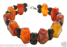 Bracelet Brazilian Agate (3 design choices) 100% Natural Genuine from India Yoga
