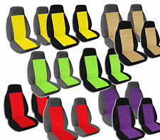 2 Front Bucket Seat Covers Ford F-150 F-250 and F-350 1992-1998 Choose Color!!