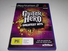 Guitar Hero Greatest Hits PS2 PAL Preloved *Complete*