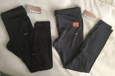 NWT Hind Men's Running Cycling Tights Pants gray Black M L