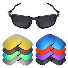 MRY POLARIZED Replacement Lenses for-Oakley Badman Sunglasses - Option Colors