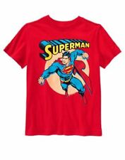 NWT Crazy 8 Boys Red Tee Shirt Superman  Med ( 7-8 ) Large (10-12 ) Short Sleeve