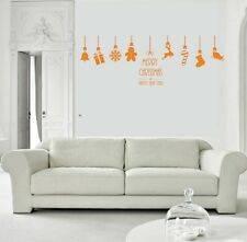 Christmas Hanging Balls Window wall Stickers Wall Decal Baubles Xmas Decorations
