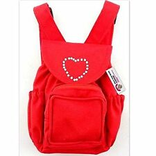 "Build Your Bears Wardrobe 15-Inch ""Clothes Fit Build Bear"" Backpack (Red)"