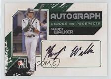 2011 In the Game Heroes and Prospects #A-KW Keenyn Walker Auto Baseball Card 6o2
