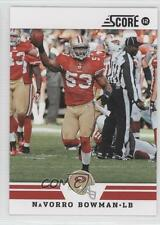 2012 Score #17 NaVorro Bowman San Francisco 49ers Football Card 0c4