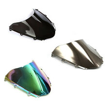 Black Chrome Iridium Windshield Windscreen Motorcycle For Honda CBR 1000RR 04-07