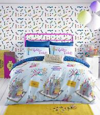 Willy Wonka Duvet Sets Bed Linen by Roald Dahl ... Free Shipping