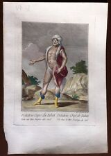 ORIGINAL RARE ENGRAVING 1783 TAHITI POTATOW CHIEF SOUTH PACIFIC 38x26cm V 207