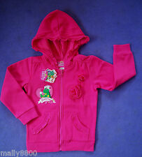 Dorothy the Dinosaur - Wiggles - Girls - Hooded Jacket - Hoody  - Size 1