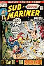 Sub-Mariner (1968 series) #53 in Very Fine - condition. Bagged/Boarded