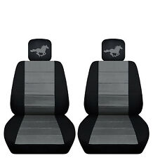 2015 to 2016 Ford Mustang Front Seat Covers with a Horse
