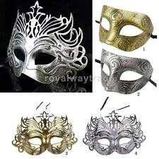 Vintage Venetian Mask Men Masquerade Party Mask Mysterious Sexy Fancy Dress Mask