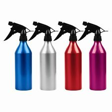 ALUMINIUM WATER SPRAY BOTTLE Hairdresser Hairspray Pump Sprayer Hair Salon 500ml